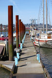 Marina in Astoria Oregon. Stock Image
