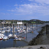 Marina At Treguier. Brittany. France Royalty Free Stock Photos