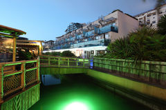 Marina au Gibraltar Photographie stock libre de droits