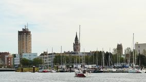Marina av Dunkirk, Frankrike arkivfilmer