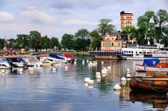 Marina av Vastervik, Sverige Royaltyfria Bilder