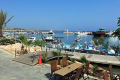 Marina of Ayia Napa, Cyprus Royalty Free Stock Photo