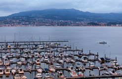 Marina of Baiona Royalty Free Stock Image