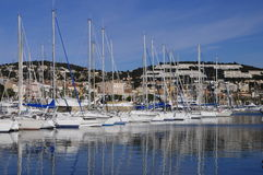 Marina Bandol, Francja Obraz Stock