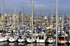 Marina in Barcelona Royalty Free Stock Images