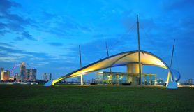 Marina Barrage Royalty Free Stock Images