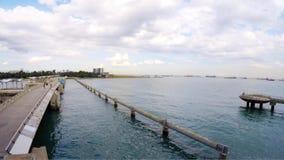 Marina Barrage vídeos de arquivo