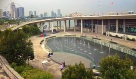 Marina Barrage stockfotografie