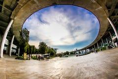 Marina Barrage imagenes de archivo