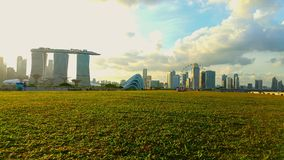 Marina Barrage Singapore Stock Photo