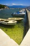 Marina in Baska. Boats in marina in Baska, Croatia Stock Photos