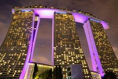 Marina Bay immagine stock libera da diritti