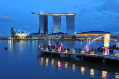 Marina Bay Stock Image