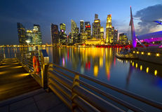 Marina Bay Royalty Free Stock Images