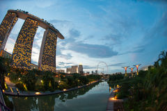 Marina Bay Photo stock