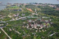 Marina Bay Arkivfoto