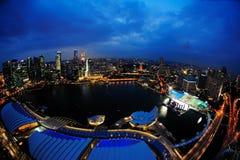 Marina Bay Fotografia de Stock Royalty Free