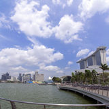 Marina Bay Immagini Stock
