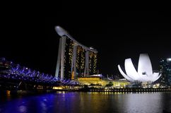 Marina Bay Fotos de Stock Royalty Free