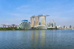 Marina Bay Photo libre de droits