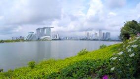 Marina Bay almacen de metraje de vídeo