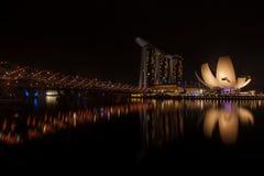 Marina Bay Royalty-vrije Stock Foto