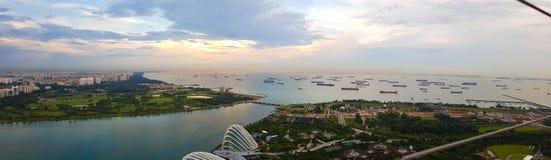 Marina Bay Stockbild