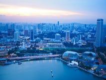 Marina Bay Royalty-vrije Stock Afbeeldingen