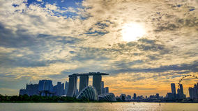 Marina Bay Fotografie Stock Libere da Diritti