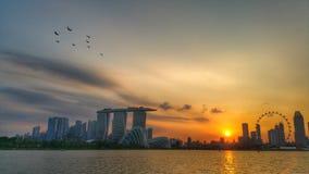 Marina Bay Imagens de Stock Royalty Free