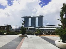 Marina Bay foto de stock royalty free