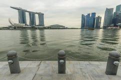Marina Bay Royaltyfria Foton