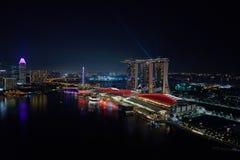 Marina Bay Photos libres de droits