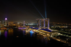 Marina Bay Photo libre de droits