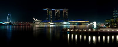 Marina Bay Attraction Stock Image