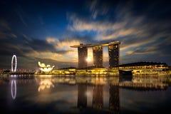 Marina bay Royalty Free Stock Photo