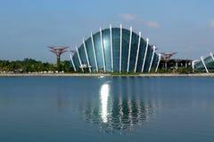 Marina Bay Cityscape 6 Foto de archivo libre de regalías