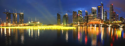 Marina Bay at Countdown Stock Image