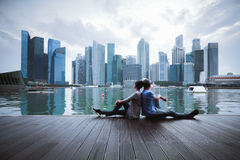 Marina bay Stock Images