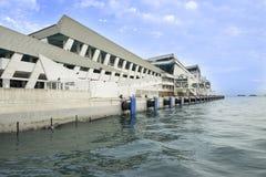 Marina Bay Cruise Centre Stock Afbeeldingen