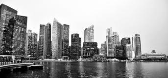 Marina Bay, cruzeiro do rio de Singapura imagem de stock