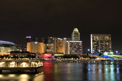 Marina Bay Distric Singapore Royalty Free Stock Photography