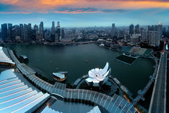 Marina bay Royalty Free Stock Photo