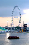 Marina Bay em Singapura Foto de Stock