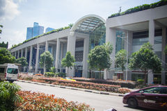 Marina Bay, Famous Hotel in Singapore Royalty Free Stock Photography
