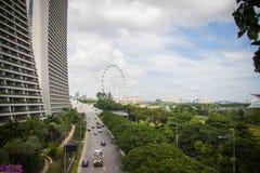 Marina Bay, Famous Hotel in Singapore Royalty Free Stock Photo
