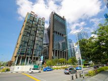 Marina Bay Financial Centre in Singapore Stock Images