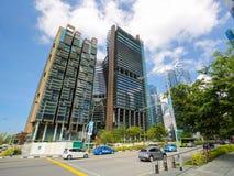 Marina Bay Financial Centre em Singapura Imagens de Stock