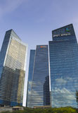 Marina Bay Financial Centre Stock Photo