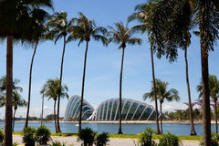 Marina Bay Gardens, Singapore Stock Image